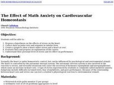 The Effect of Math Anxiety on Cardiovascular Homeostasis Lesson Plan