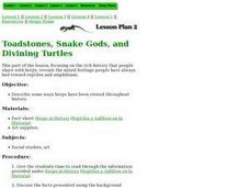 Toadstones, Snake Gods, and Divining Turtles Lesson Plan