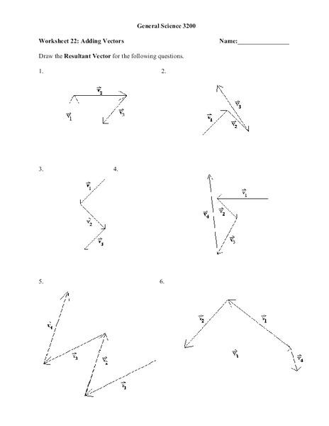 Worksheets Adding Vectors Worksheet vectors worksheet sharebrowse collection of adding sharebrowse