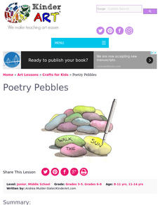 Poetry Pebbles Lesson Plan