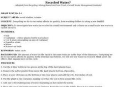 Recycled Water? Lesson Plan