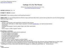 Garbage: It's For The Worms Lesson Plan