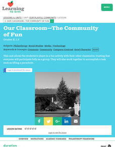 Our Classroom-The Community of Fun Lesson Plan
