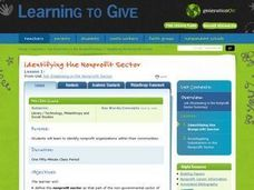 Identifying the Nonprofit Sector Lesson Plan