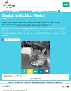 Decision-Making Tool Lesson Plan