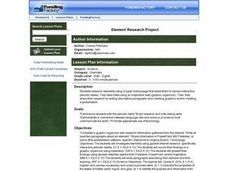 Element Research Project Activities & Project