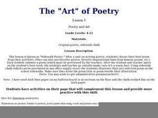 "The ""Art"" of Poetry Lesson Plan"