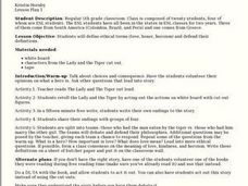 The Lady and The Tiger Lesson Plan
