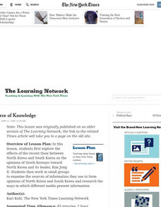 The Source of Knowledge Lesson Plan