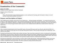 Examination of Our Community Lesson Plan