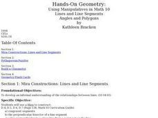 Hands-On Geometry Lesson Plan