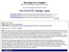New York WTC Redesign - Again Worksheet