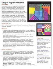 Graph Paper Patterns Lesson Plan