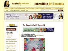 Faith Ringgold and Tar Beach Lesson Plan