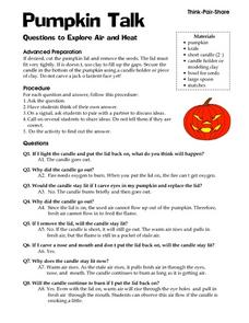 Pumpkin Talk Lesson Plan