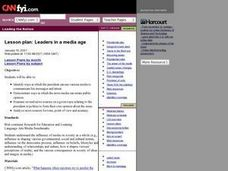 Leaders in a Media Age Lesson Plan