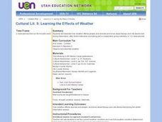Learning the Effects of Weather Lesson Plan