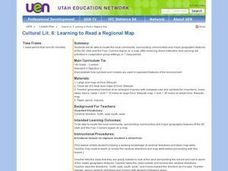 Learning to Read a Regional Map Lesson Plan