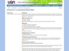 Learning to Read a Map Lesson Plan