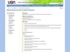 Retelling the African Folktale Abiyoyo Lesson Plan