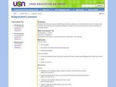 Independent Learners Lesson Plan