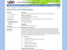 Chill Tie -- Free Enterprise Lesson Plan
