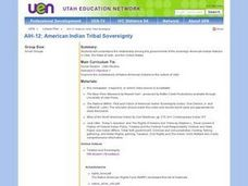 American Indian Tribal Sovereignty Lesson Plan