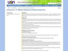 Western Expansion and Native Americans Lesson Plan
