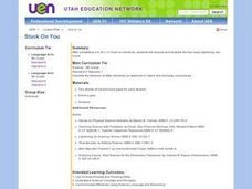 Stuck On You Lesson Plan