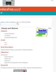 Sheep and Wolves Lesson Plan