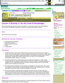 Lesson 3 Activity 1: On the Trail of Knowledge Lesson Plan