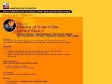 History of Coal in the United States Lesson Plan