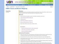 UMNH: Rocks And Mineral Mapping Lesson Plan
