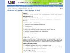 Centennial: A Patchwork Quilt..People Of Utah Lesson Plan