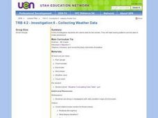 Investigation 6 - Collecting Weather Data Lesson Plan
