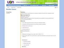 Number Games Lesson Plan