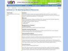 Identifying Natural Resources Lesson Plan