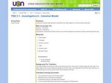 Investigation 6 - Celestial Model Lesson Plan