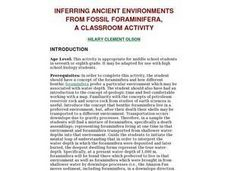 Inferring Ancient Environments From Fossil Foraminifera Lesson Plan