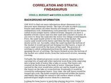 Correlation And Strata: Findasaurus Lesson Plan