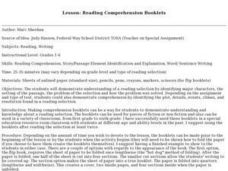 Reading Comprehension Booklets Lesson Plan