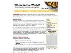 Where in the World? :Understanding Latitude and Longitude Lesson Plan