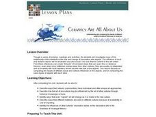 Ceramics Are All About Us Lesson Plan