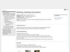 Buildings, Buildings Everywhere Lesson Plan