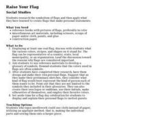 Raise Your Flag Lesson Plan