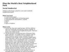 Plan the World's Best Neighborhood Park Lesson Plan