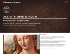 Open Window: Using Leonardo's Perspectograph Lesson Plan