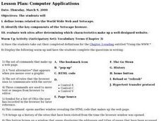 Computer Applications - 2 Lesson Plan