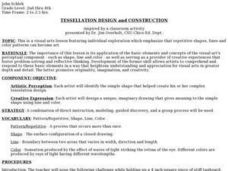 Tessellation Design And Construction Lesson Plan