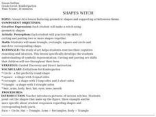 Shapes Witch Lesson Plan